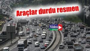 İstanbul trafiği drone ile kaydedildi