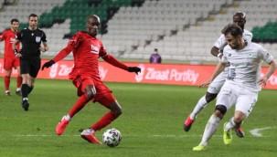 Konyaspor: 1 - Beşiktaş: 1