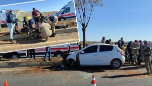 Otomobil ağaca çarptı: 2 yaralı