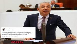 Sancar istifasını açıkladı