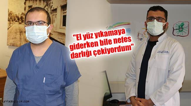Urfa'da görevli doktorlar yaşadıklarını anlattı