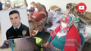 Urfa'da görevli polisin ailesine acı haber verildi