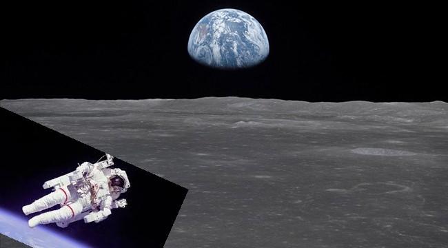 Uzayda ilginç olay