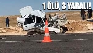 Viranşehir'de otomobil ile minibüs çarpıştı!