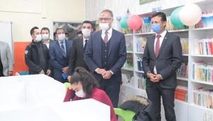 8 kütüphanenin açılışı yapıldı