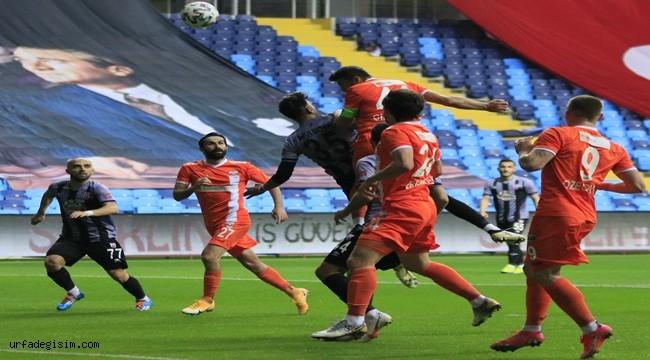Adanaspor – Balıkesirspor maç sonucu belli oldu