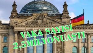 Almanya'da vaka sayısı