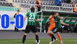 Denizlispor – Başakşehir maçında gol yok