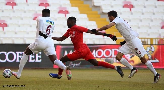 DG Sivasspor - A.Hatayspor maçın kazananı olmadı