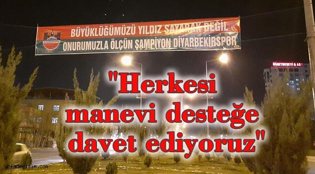 Diyarbekirspor'dan 'sen de bayrak as' çalışması