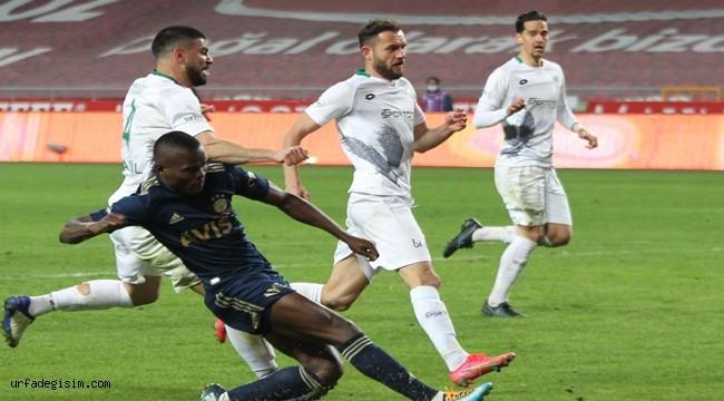 Fenerbahçe maçtan 3 golle çıktı