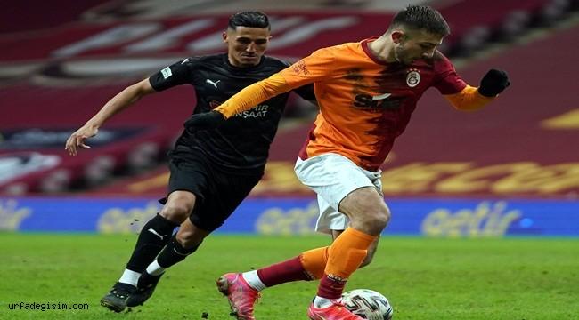 Galatasaray serisini sürdüremedi