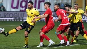 İstanbulspor - Ankara Keçiörengücü maçında kazanan yok