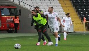 Maçın galibi Gaziantep FK