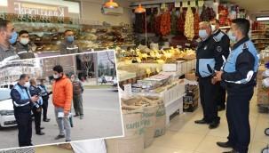 Market, kasap ve fırınlar denetlendi