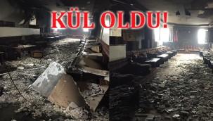 ŞASEMKOM'un tesisi yandı!
