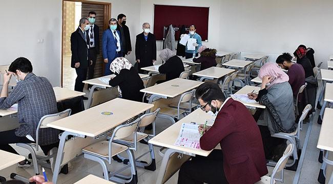 Yabancı öğrencilere yönelik sınav yapıldı