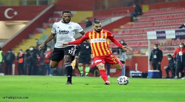 Beşiktaş deplasmanında yüzü gülmüyor!