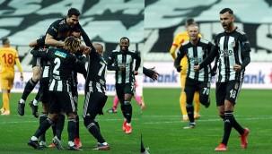 Beşiktaş'ın şampiyonluk yürüyüşü sürüyor