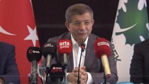 Davutoğlu'ndan flaş açıklama: Seçim görünüyor