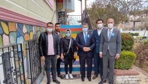 DEVA Partisi otizmli çocukları ziyaret etti