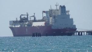 Doğalgaz depolama gemisi Ertuğrul Gazi, Hatay'da
