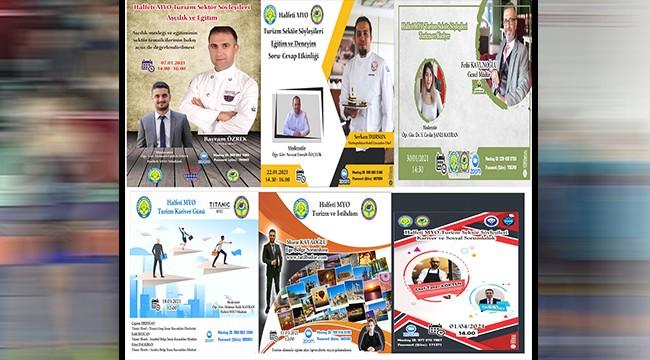 Halfeti'de kariyer ve turizm söyleşileri düzenlendi