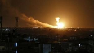 Gazze'ye hava saldırısı: 3'ü çocuk 9 ölü
