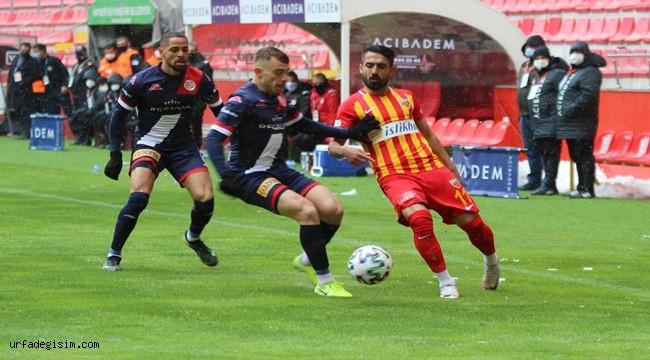 Kayserispor'a tek gollük darbe