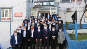 Kırıkçı'dan Bozova çıkarması