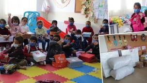Konya'dan Şanlıurfa'ya eğitim malzemesi