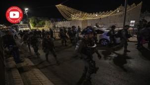 Kudüs'te teravih sonrası saldırı