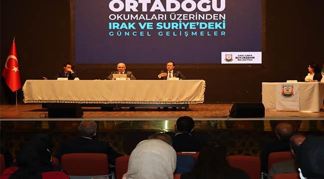 Ortadoğu'da ki gelişmeler panelde konuşuldu