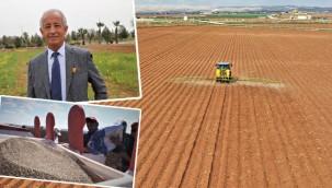 Pamuk ekimi Şanlıurfa'da başladı