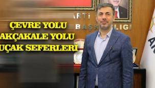 Şanlıurfa'nın Sorunlarını Erdoğan'a iletti