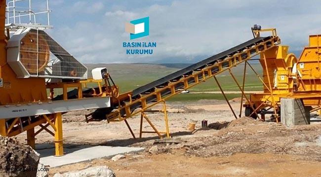 Stabilize malzeme ve bazalt kırma taşı satın alınacak
