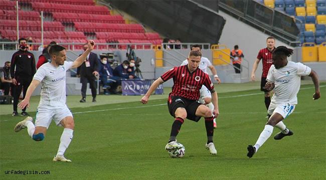 Gençlerbirliği: 1 - BB Erzurumspor: 1