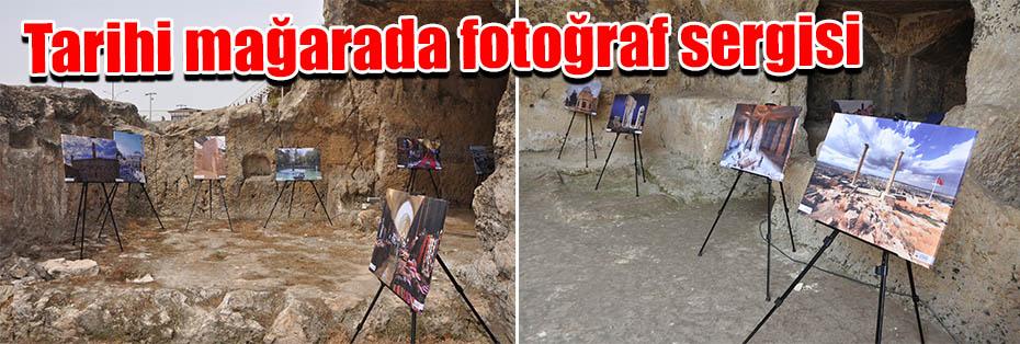 Tarihi mağarada fotoğraf sergisi