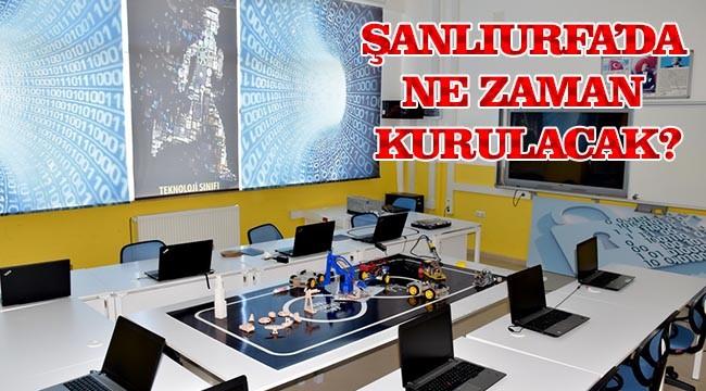 Teknoloji sınıfları kurulacak