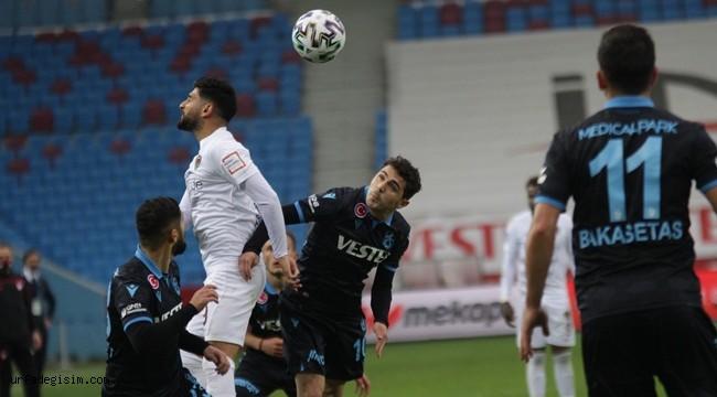 Trabzonspor'a son dakika soğuk gol
