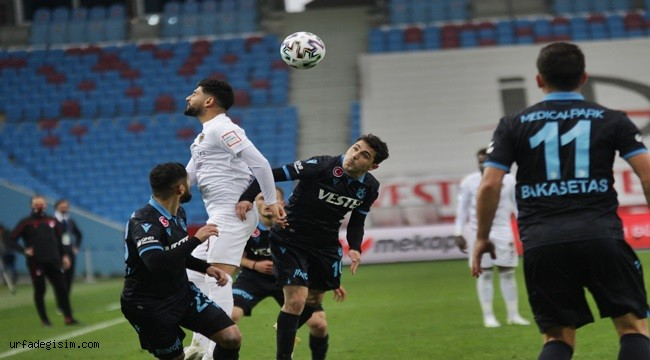 Trabzonspor beraberliklere abone oldu