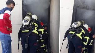 Yangın çıkan ev kullanılamaz hale geldi!