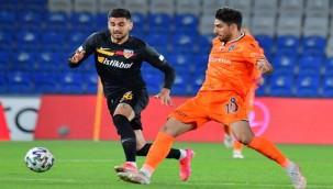 Başakşehir – Kayserispor maçında gol yok