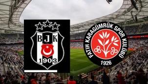 Beşiktaş, Karagümrük ilk 11'i