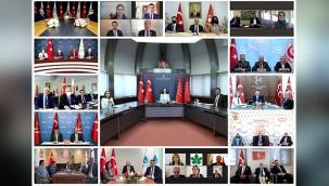 CHP heyeti Siyasi partiler ile bayramlaştı
