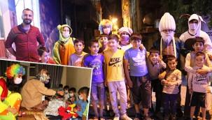 Çocuklara bayramı sevinci