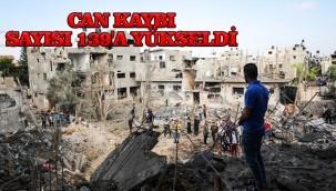 Gazze ki can kaybı sayısı artıyor