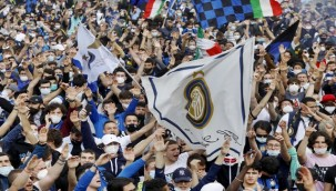 Inter taraftarları Covid-19'u unuttu