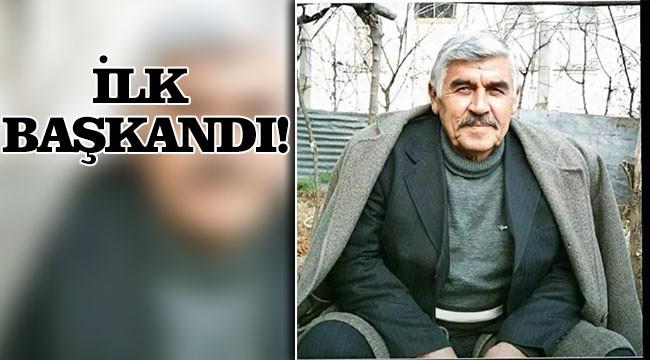 Karaköprü'nün kurucu başkanı vefat etti!