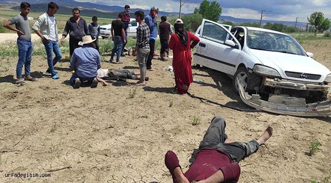 Otomobil takla attı, 4 kişi yaralandı